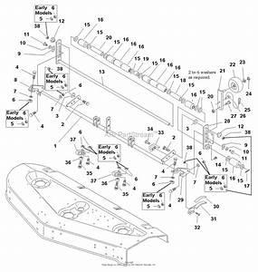 Simplicity 1692860 - 60 U0026quot  Mower Deck Parts Diagram For 60 U0026quot  Mower Deck