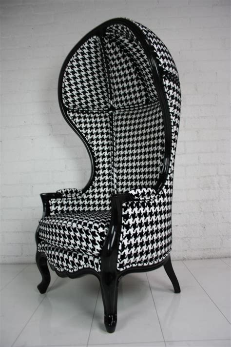 wwwroomservicestorecom houndstooth balloon chair