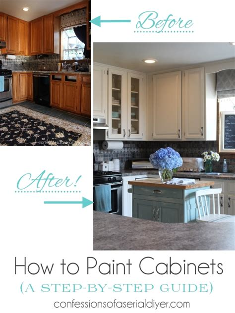 kitchen cabinets put together yourself how to paint kitchen cabinets a step by step guide
