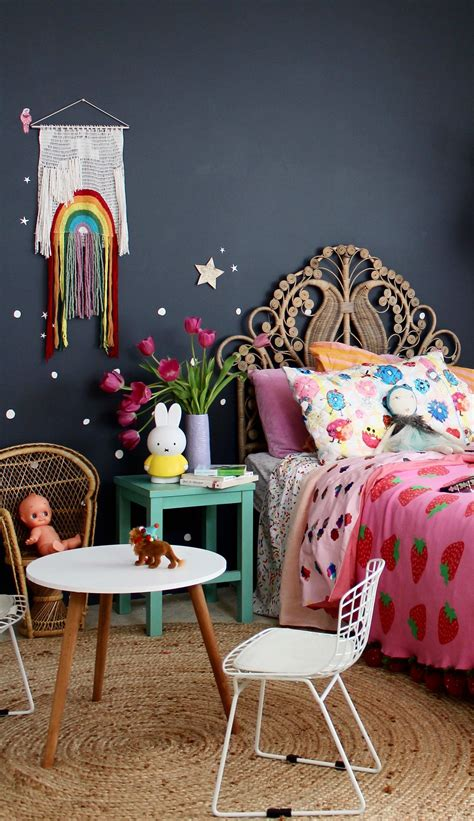trending  boho vintage bedroom  girls kids girl