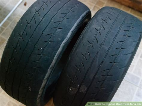 How To Choose Used Tires For A Car