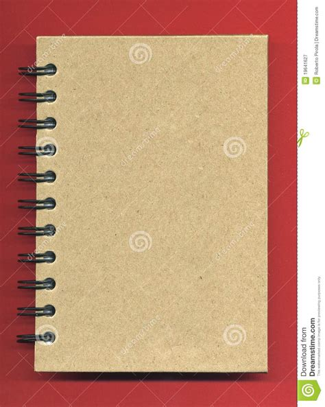 spiral notebook cover royalty  stock photography