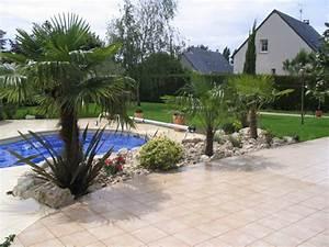 jardin autour d une piscine 17 ambiance v233g233tale With jardin autour d une piscine