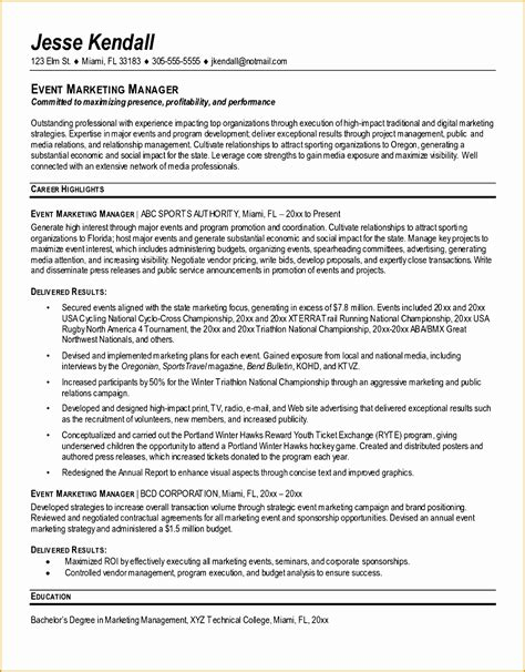 Director Resume Sle by 7 Marketing Manager Resume Objective Free Sles