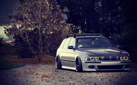 wallpapers  rider bmw  series wagon