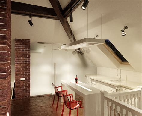 the of sloped ceiling spaces