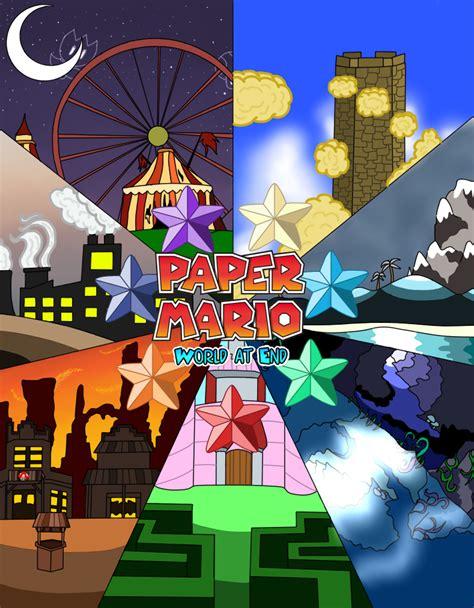 paper mario fan game paper mario world at end by renleixue on deviantart