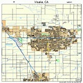 Visalia California Street Map 0682954