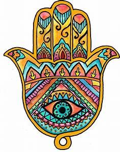 Hamsa / Hand of Fatima • SaraCura