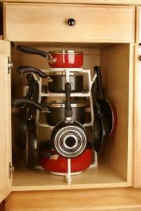 15 creative ideas to organize pots and pans storage on your kitchen shelterness - Kitchen Storage Ideas For Pots And Pans