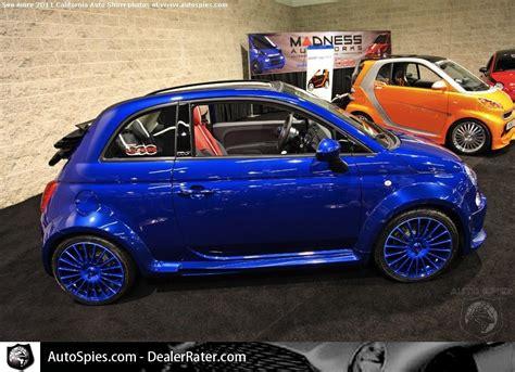Customized Fiat 500 by Customized Blue Fiat 500 Safford Fiat Azzuro