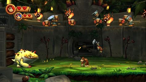 Donkey Kong Country Returns Review Video Games Daily