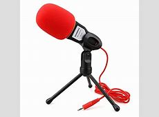 Professional Condenser Sound Microphone With Stand for PC