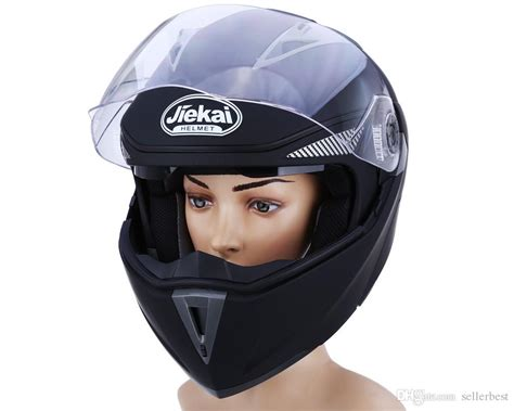 New Motorcycle Helmet Full Face Dual Visor Street Bike