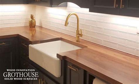 wood countertops butcher block countertop bar top images