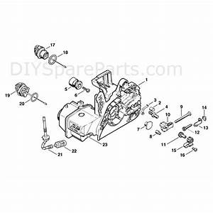 Stihl Ms 250 Chainsaw  Ms250  Parts Diagram  Engine Housing