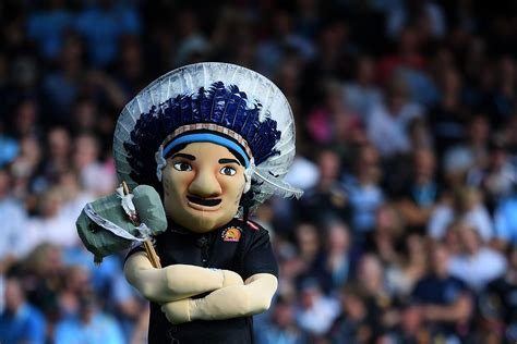 exeter chiefs  retire big chief mascot      logo  board review