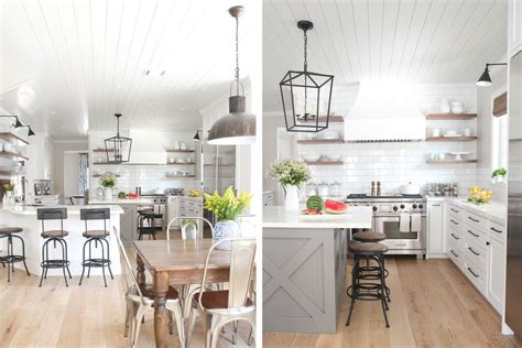 remodeled kitchens with islands 49 gorgeous modern farmhouse kitchens