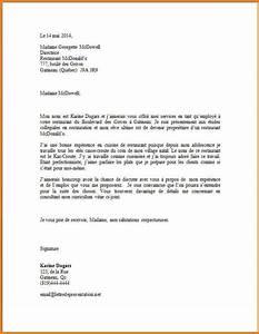 Lettre De Motivation écrite Ou Ordi : lettre de motivation restauration lettre emploi alienbar ~ Medecine-chirurgie-esthetiques.com Avis de Voitures