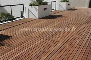 Lames Parquet Bois : terrasse lames parquet massif niove pont de bateau 22 ~ Premium-room.com Idées de Décoration
