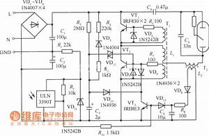 175 W Mercury Vapor Lamp Automatic On  Off Of Electronic Ballast Circuit Diagram