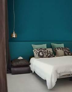 Bleu Paon Dulux : bleu canard les bonnes associations de couleurs c t maison ~ Nature-et-papiers.com Idées de Décoration
