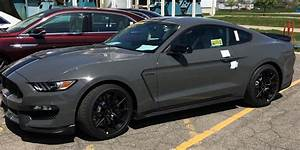 Lead Foot Gray Looks Smashing On 2018 Shelby GT350 Mustang - autoevolution