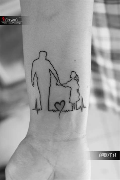 Father Daughter Tattoos | Tattoos for daughters, Father