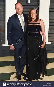 Douglas Emhoff And Kamala Harris Arrivals For The 2015