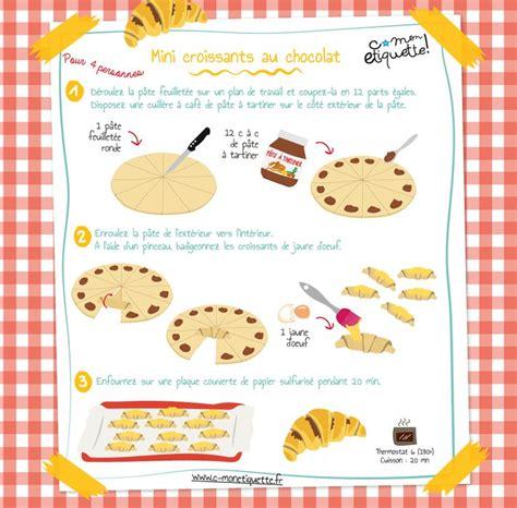 cuisiner pour les enfants les 25 meilleures idées de la catégorie croissants sur