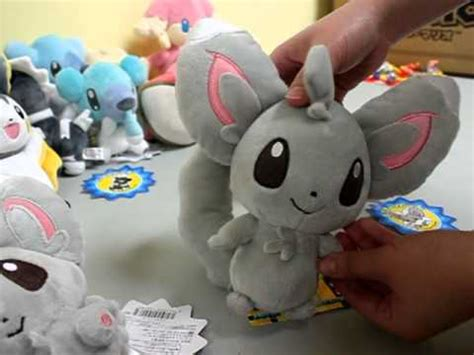 pokemon center black  white plush doll chillarmy