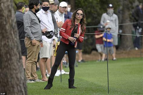 Tiger Woods' ex-wife Elin Nordegren watches their son ...