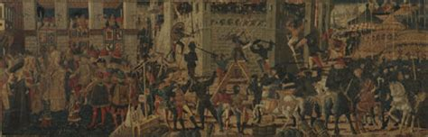 the siege of carthage cassone panel siege of carthage and the continence of