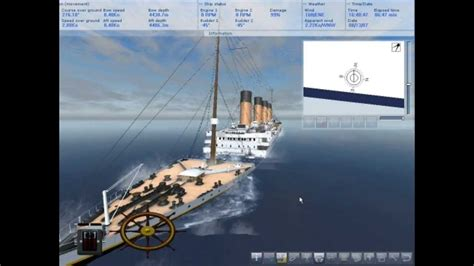 sinking ship simulator the rms titanic pin sinking ship simulator the rms titanic 3d animation on