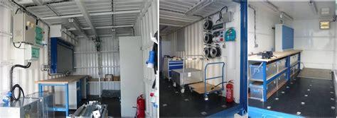 bureau aménagé oxymontage les containers de chantier pour vos projet de