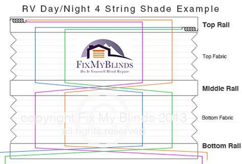 rv day night shade repair  blind repair