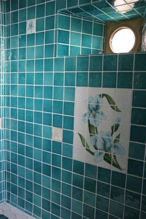 carrelage cr馘ence cuisine carrelage bleu turquoise salle de bain maison design bahbe com
