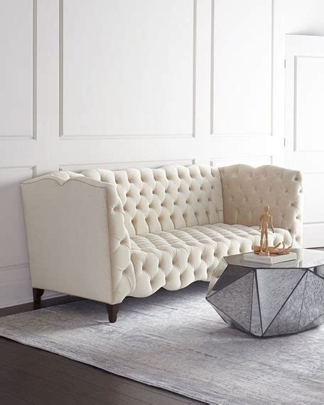 Haute House Sofa by Haute House Tufted Sofa