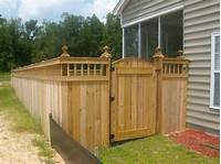 fence gate design fence company | Charleston, SC fence companies