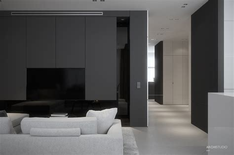 Two Black And Gray Homes With Chic Simplicity by Two Black And Gray Homes With Chic Simplicity