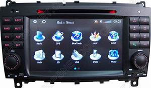 Sell Mercedes Clk W209 Gps Navigation Dvd Radio Head Unit