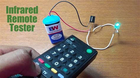 How Make Remote Tester Using Receiver Diode