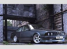 Oldschool BMW E24 6series with big V8 engine Drive