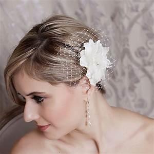 Laura Jayne Bridal Hair Flowers Kaylee Organza Flower
