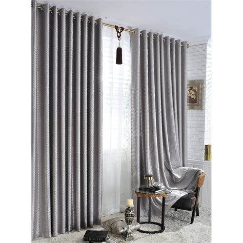 silver energy saving hotel quality blackout curtains