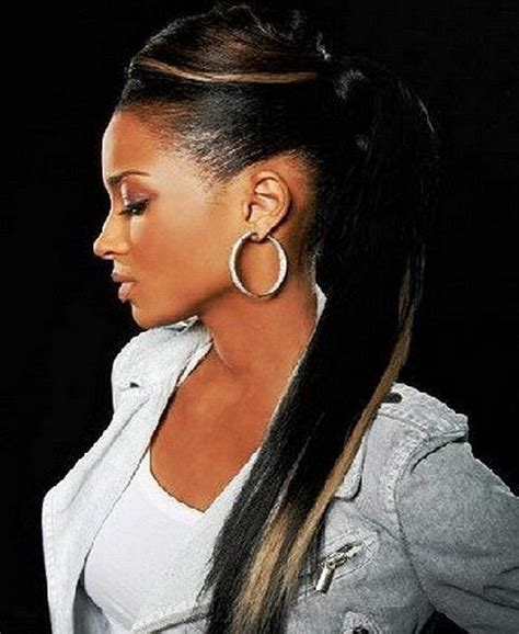 Ciara Braided Hairstyles by I Ciara In Ponytails Hairstyles For Black