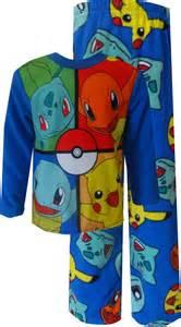 pokemon pajamas for boys images