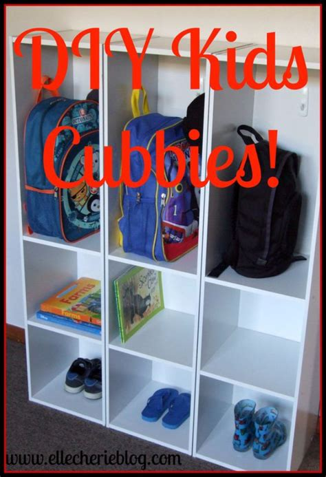 creative diy organizing ideas   kids room
