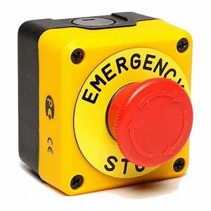 Emergency Stop Button For Gas Solenoid Valves