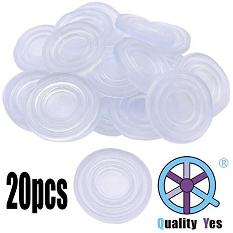 qy 20pcs shape non soft grip pads glass table rubber ft buffer 702658492854 ebay